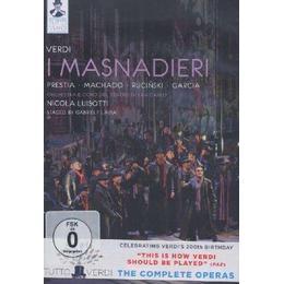 Verdi: I Masnadieri (Presita, Machado, Rucinski, Garcia Orchestra e Coro del Teatro di San Carlo) (C Major: 722208) [DVD] [2013] [NTSC]